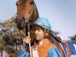 Garth and champion Bush Telegraph
