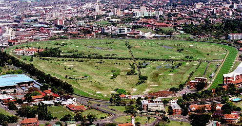 Greyville Racecourse aerial view4
