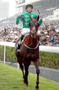 Glorious Days and Douglas Whyte - Gr1 Longines Hong Kong Mile