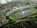 Meydan Racetrack from the air