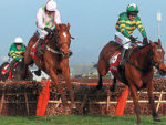 More Of That wins the World Hurdle at the 2014 Cheltenham 2014