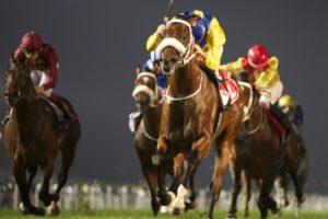 Vercingetorix wins the Gr1 Jebel Hatta on Super Saturday