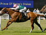 Byword wins the Prince of Wales's Stakes