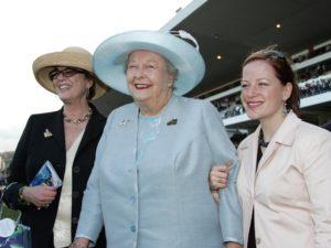 Three generations - Mary Slack, Bridget Oppenheimer, Jessica Slack