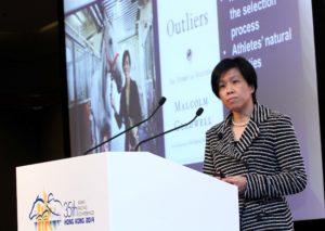 Amy Chan, Manager, Racing Development Board, Headmistress of Apprentice Jockeys School