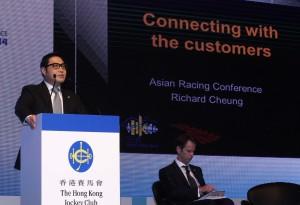 Richard Cheung, Executive Director, Customer and Marketing of the Hong Kong Jockey Club