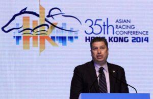 William A. Nader, Executive Director, Racing of the Hong Kong Jockey Club