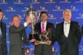 A proud Duncan Howells receives his award (Nkosi Hlophe)