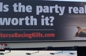 Anti-racing Billboard