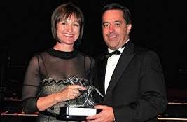 Ingrid & Markus Jooste banked the big winner's cheque