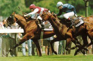 Fort Wood wins the 1993 Gr1 Grand Prix de Paris in record time