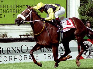 Horse Chestnut wins the 1998 Dingaans