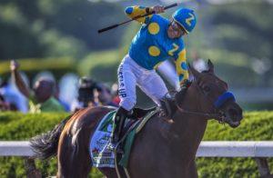 American Pharoah wins the Belmont