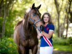 Nichola Mohr with Sport Schu (credit: Tracy Robertson Photography)