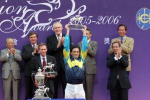 13 time Hong Kong champion jockey, Doug Whyte