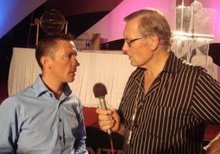 Jimmy with Frankie Dettori