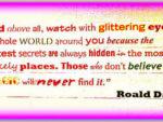 Roald Dahl - magic