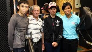 Felix Coetzee mentors HKJC apprentices Kei Chiong and Jack Wong