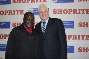 2015 winner Alexious Shoko with Minister Alan Winde