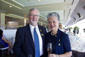 David Allan with his wife Yoshi (photo: supplied)