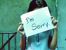 Sorry - the hardest word