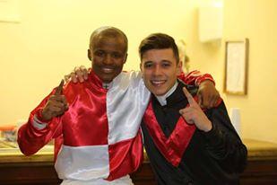 Diego De Gouveia and Eric Ngwane