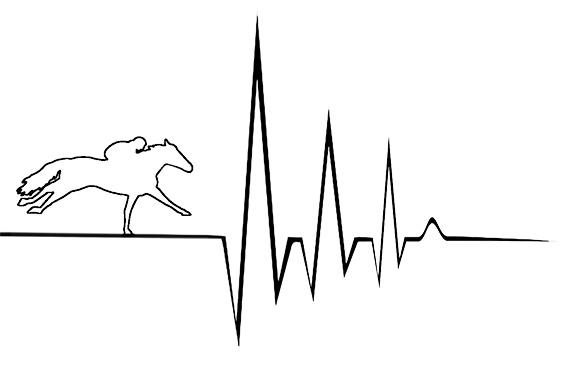EKG, Racehorse, flatline
