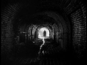 Depression, dark tunnel