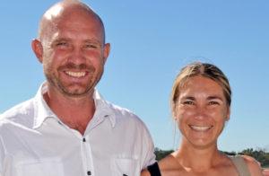 Jannie and Renate du Plessis (photo: Pauline Herman)