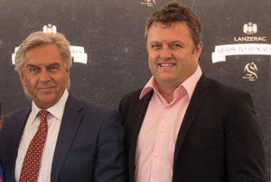 Chairman Chris van Niekerk with CEO Wehann Smith (photo: CTS)