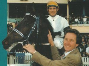 1998 Gr1 Rothmans July Handicap, Classic Flag, David Ferraris, Anthony Delpech (photo: Gold Circle)
