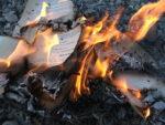 Burning book (photo: Wikipedia)