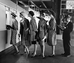 Ladies at betting window