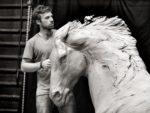 Charlie Langton - artist extraordinaire (photo: Amanda Lockhart)